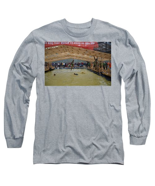 Monkey Bars Long Sleeve T-Shirt by Randy J Heath