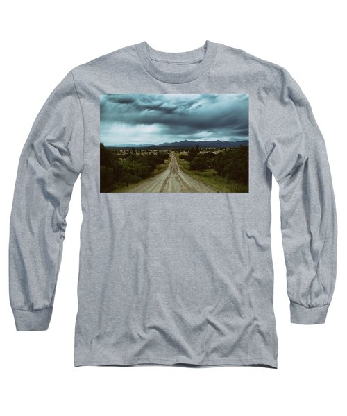 Monsoons From The Meadows Long Sleeve T-Shirt by Jason Coward