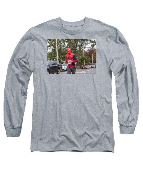 Monster Dash 43 Long Sleeve T-Shirt by Brian MacLean