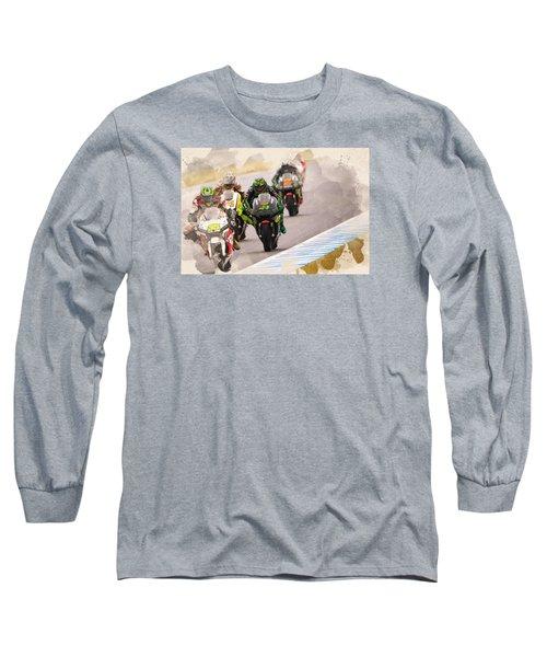 Monster Yamaha Tech 3, Long Sleeve T-Shirt