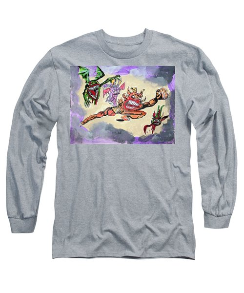 Monsters With Disagreements Long Sleeve T-Shirt