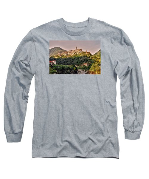 Montalto Ligure - Italy Long Sleeve T-Shirt by Juergen Weiss