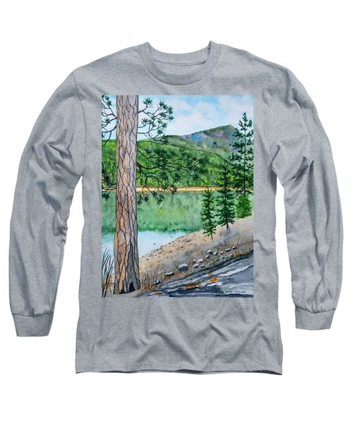 Montana - Lake Como Long Sleeve T-Shirt