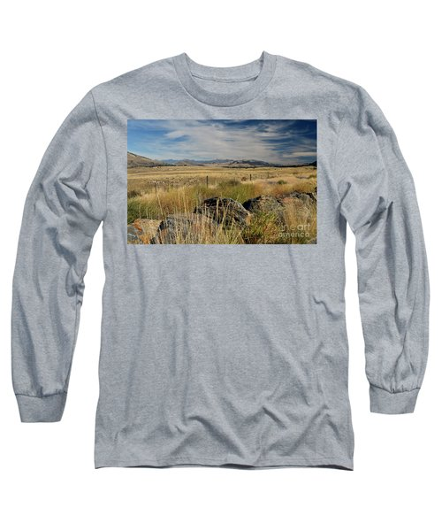 Montana Route 200 Long Sleeve T-Shirt by Cindy Murphy - NightVisions