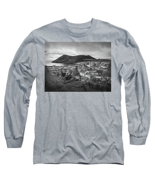 Monte Brasil And Angra Do Heroismo, Terceira Island, Azores Long Sleeve T-Shirt