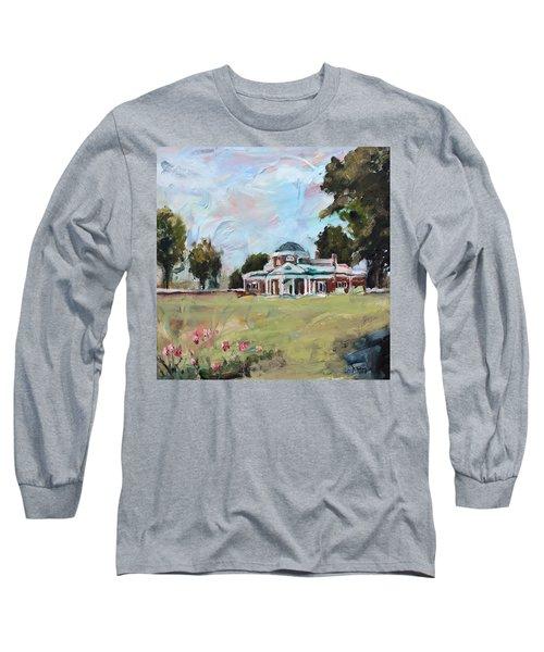 Monticello Charlottesville Virginia Long Sleeve T-Shirt