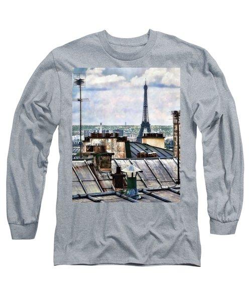 Montmartre Rooftop Long Sleeve T-Shirt