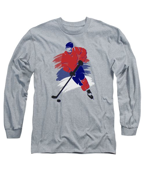 Montreal Canadiens Player Shirt Long Sleeve T-Shirt