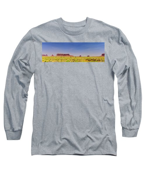 Monument Valley South View Long Sleeve T-Shirt