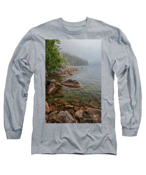 Moody And Magical Jordan Pond Long Sleeve T-Shirt
