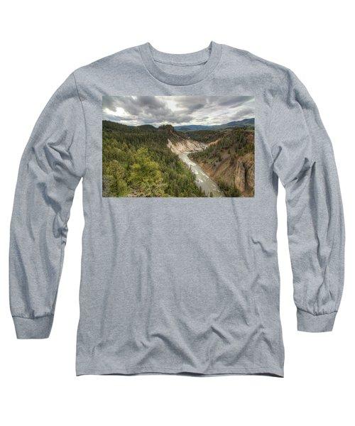 Moody Yellowstone Long Sleeve T-Shirt