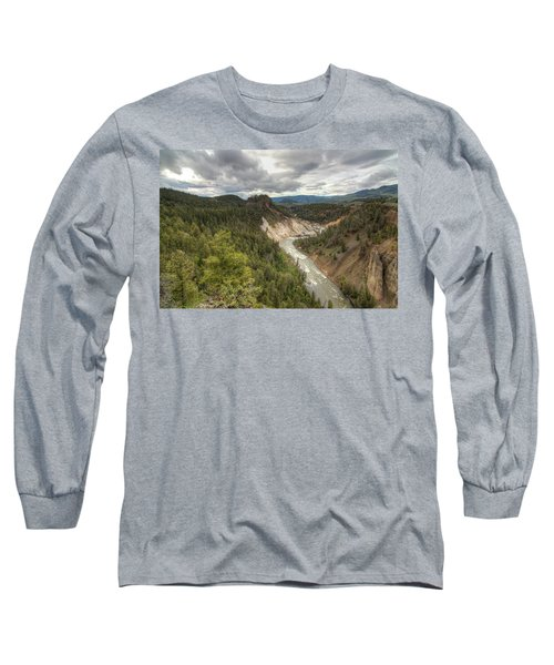 Moody Yellowstone Long Sleeve T-Shirt