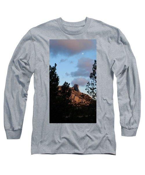 Moon And Rock Long Sleeve T-Shirt