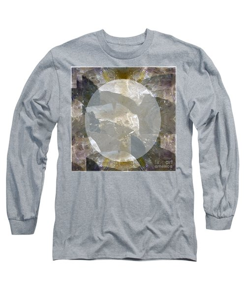 Moon Art On Stone Digital Graphics By Navin Joshi By Print Posters Greeting Cards Pillows Duvet Cove Long Sleeve T-Shirt