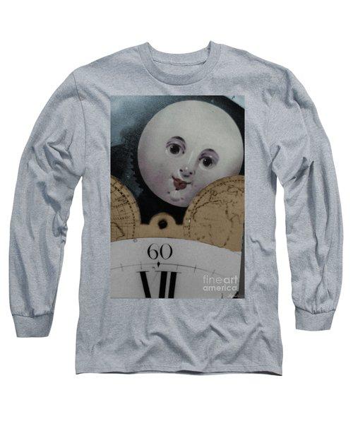 Moon Face Long Sleeve T-Shirt