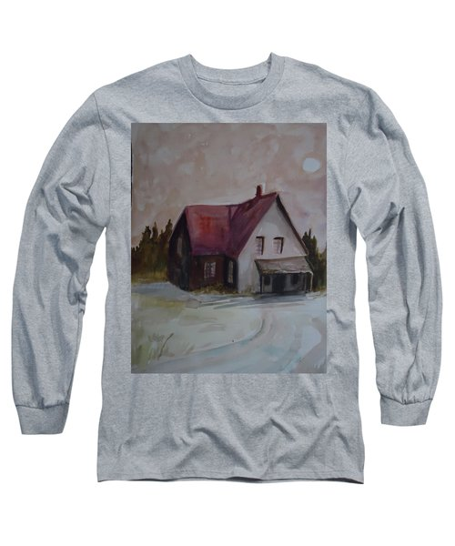Moon House Long Sleeve T-Shirt