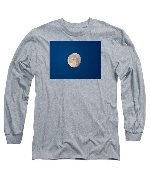 Moon In The Morning Long Sleeve T-Shirt by Dacia Doroff