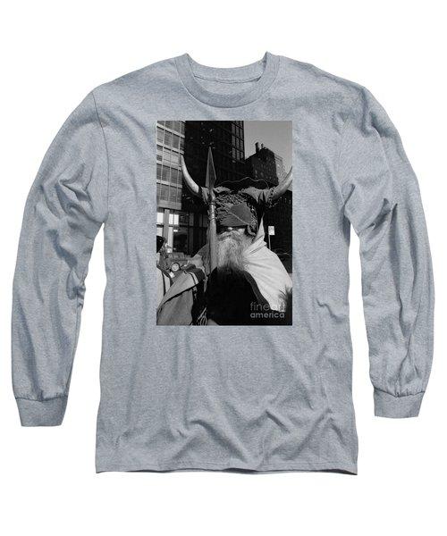 Moondog Nyc Tom Wurl Long Sleeve T-Shirt by Tom Wurl