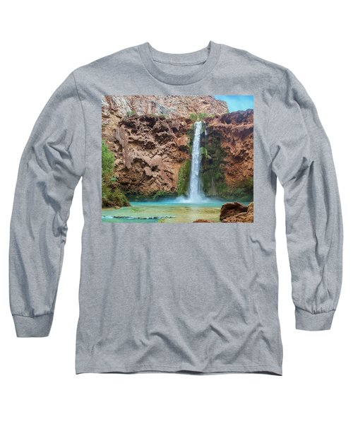 Mooney Falls Grand Canyon Long Sleeve T-Shirt
