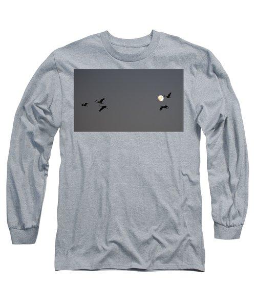 Moonlight Flight Long Sleeve T-Shirt