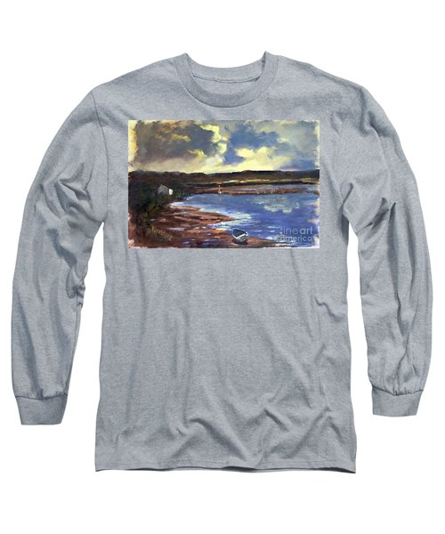 Moonlit Beach Long Sleeve T-Shirt