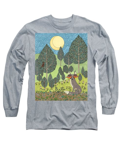 Moonlit Meadow Long Sleeve T-Shirt