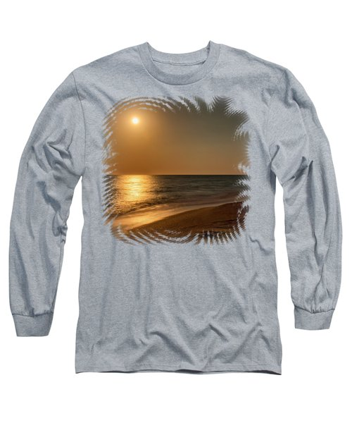 Moonscape 3 Long Sleeve T-Shirt by John M Bailey