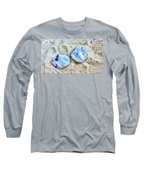 Moonstones Long Sleeve T-Shirt by Rachel Hannah