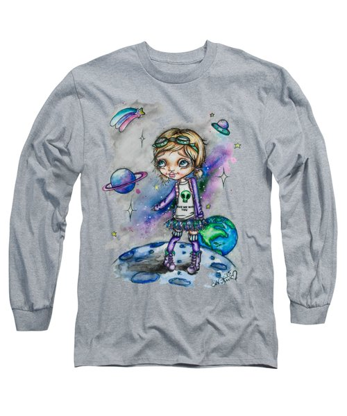 Moonwalker Long Sleeve T-Shirt by Lizzy Love