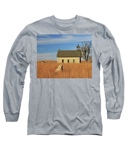 Moo's That? Long Sleeve T-Shirt by Christopher McKenzie