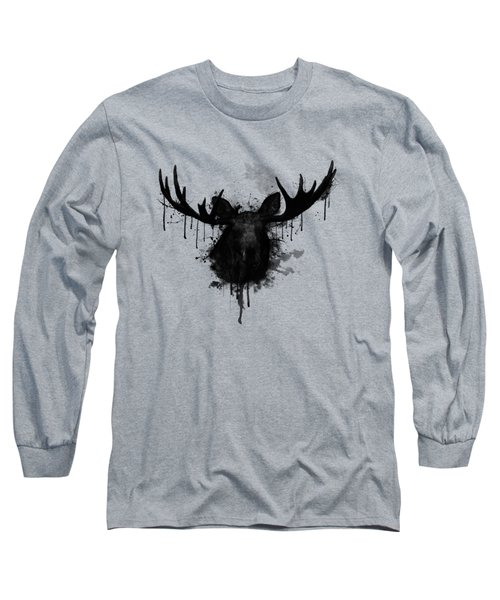 Moose Long Sleeve T-Shirt by Nicklas Gustafsson