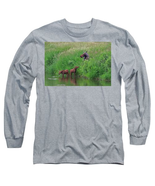 Moose Play Long Sleeve T-Shirt by Matt Helm
