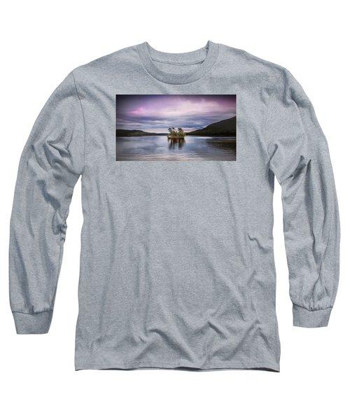 Moose Pond Maine Long Sleeve T-Shirt
