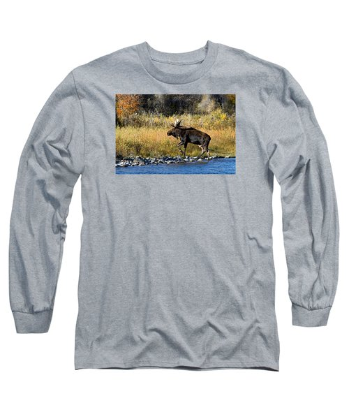 Moose X-ing Long Sleeve T-Shirt