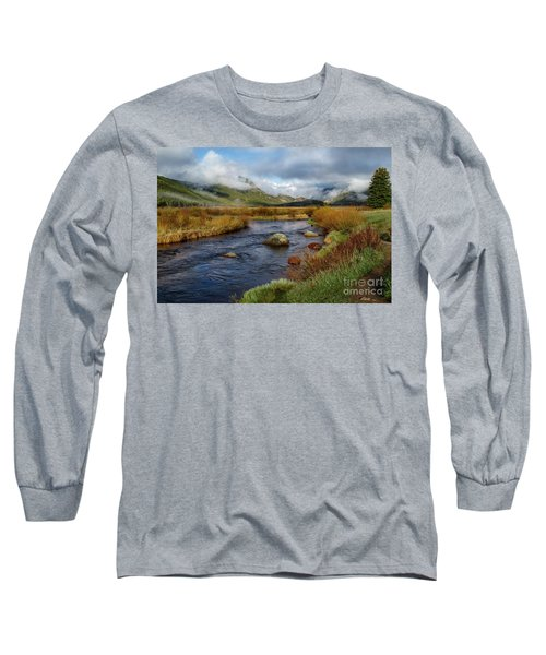 Moraine Park Morning - Rocky Mountain National Park, Colorado Long Sleeve T-Shirt