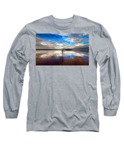 Morning Arrival At Lake Ballard Long Sleeve T-Shirt