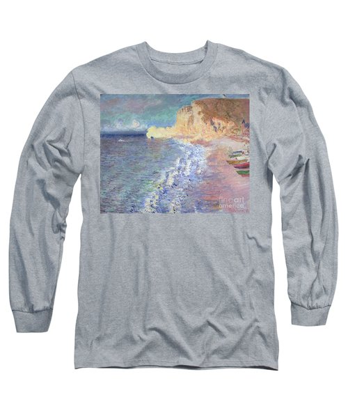 Morning At Etretat Long Sleeve T-Shirt