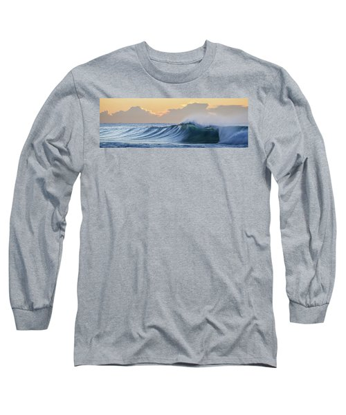 Long Sleeve T-Shirt featuring the photograph Morning Breaks by Az Jackson