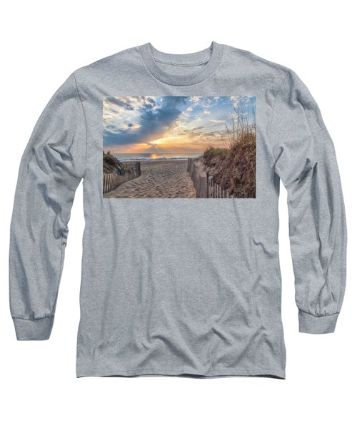 Morning Breaks Long Sleeve T-Shirt