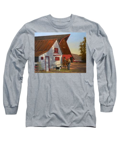 Morning Chores Long Sleeve T-Shirt