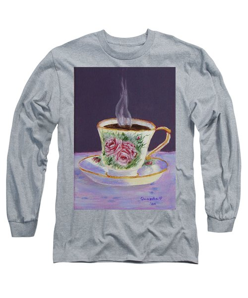 Morning Coffee Long Sleeve T-Shirt