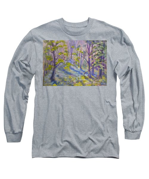 Morning Glory Long Sleeve T-Shirt by Genevieve Brown