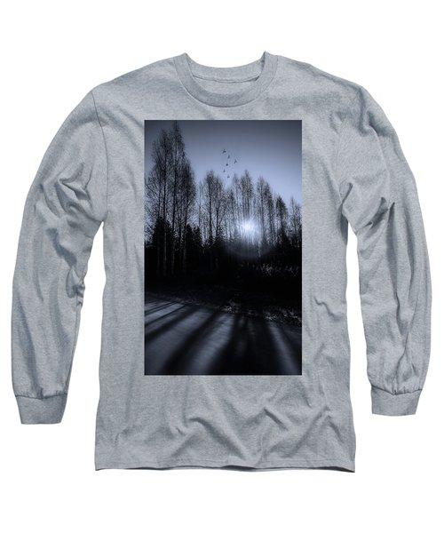 Morning Glow Long Sleeve T-Shirt by Rose-Marie Karlsen
