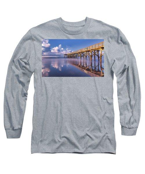 Morning Gold - Isle Of Palms, Sc Long Sleeve T-Shirt
