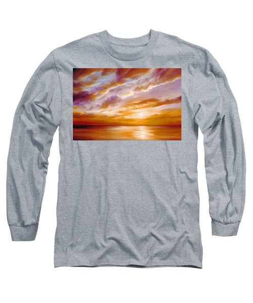 Morning Grace Long Sleeve T-Shirt by James Christopher Hill
