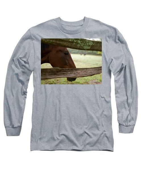 Morning Greeting Long Sleeve T-Shirt