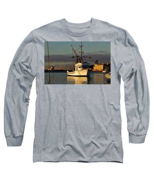 Morning Harbor Light Long Sleeve T-Shirt