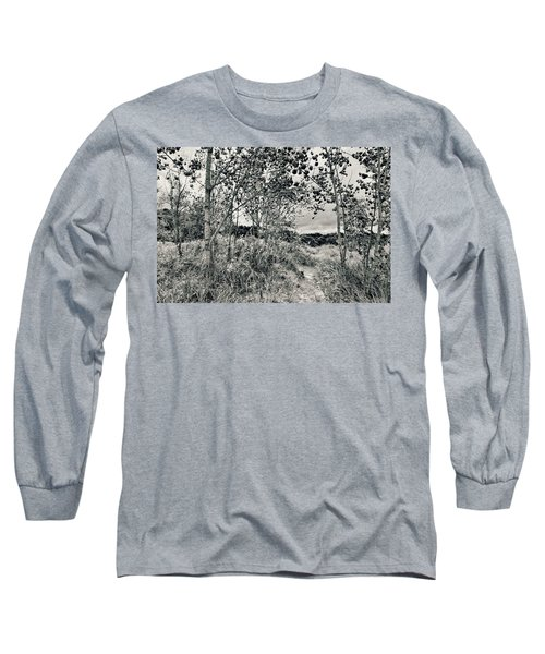 Long Sleeve T-Shirt featuring the photograph Morning In The Dunes by Michelle Calkins