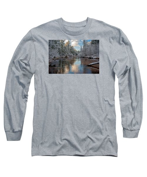 Morning Light On Grand Marais Creek Long Sleeve T-Shirt