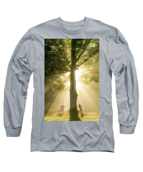 Morning Light Shining Down Long Sleeve T-Shirt